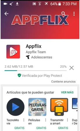 Instalar AppFlix