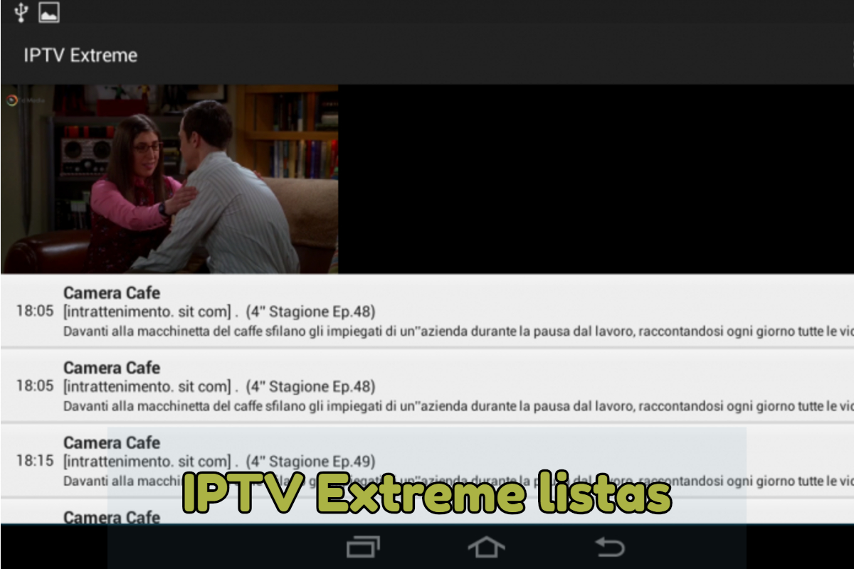 IPTV Extreme caracteristicas