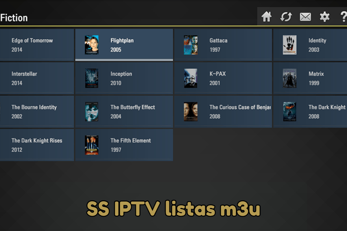 SS IPTV canales