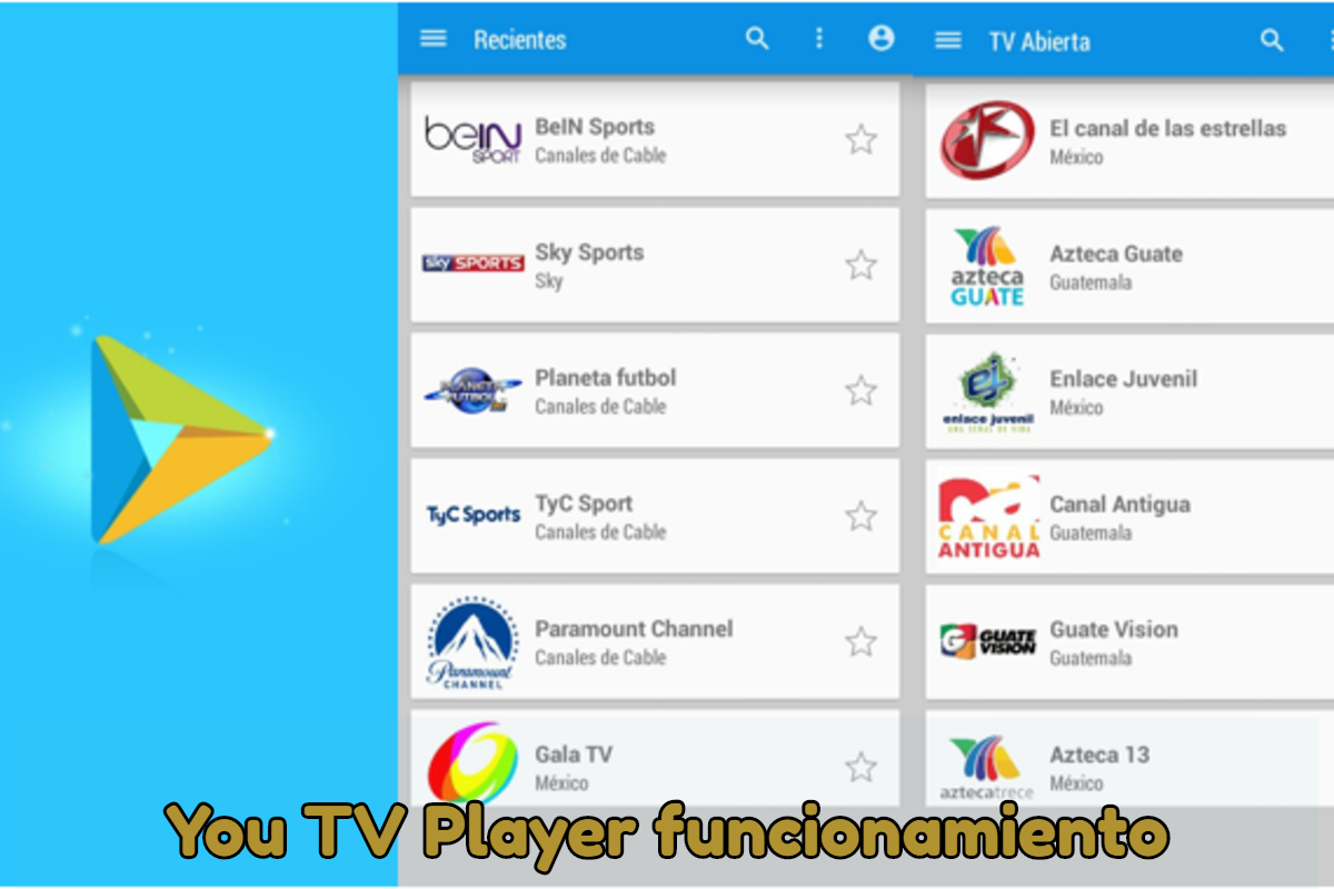 You TV Player Cómo funciona y cómo descargar